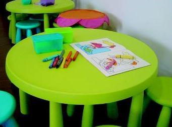 Zona de guardería para niños los fines de semana