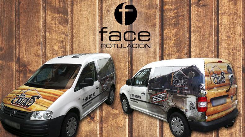Foto 22 de Diseño gráfico en Gijón | Face Rotulación
