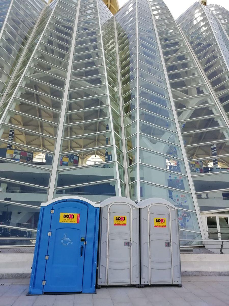 Empresa de baños portátiles en Mallorca