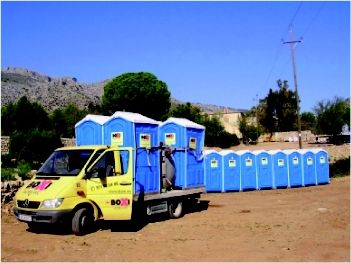 Foto 22 de Sanitarios móviles (alquiler y venta) en Marratxí | Boxi Balears