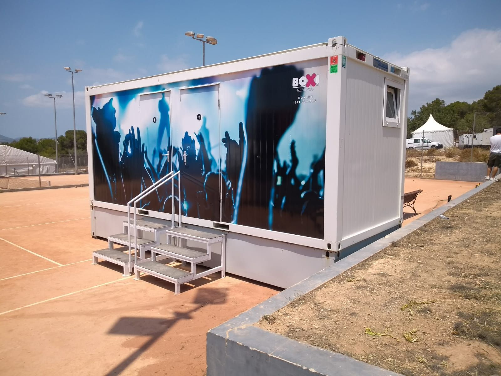 Aseos móviles en Mallorca