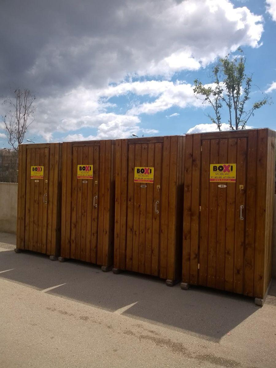 Alquiler de baños en Valencia