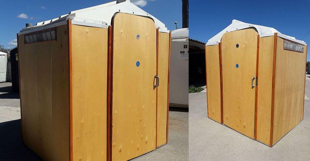 alquiler de baños portátiles movilidad reducida