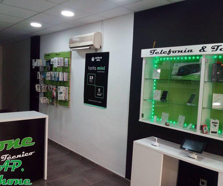 Tienda de accesorios para teléfonos