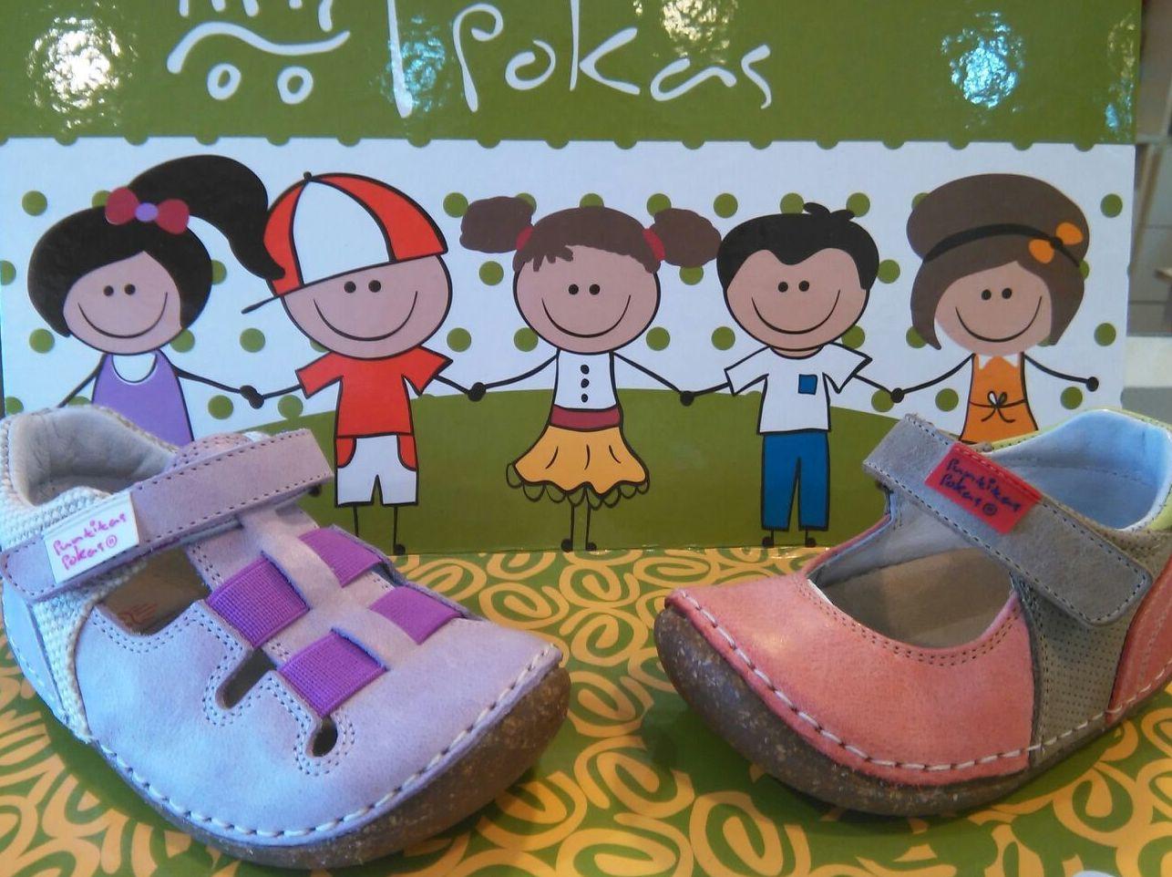 Pokas. Zapatos para niños