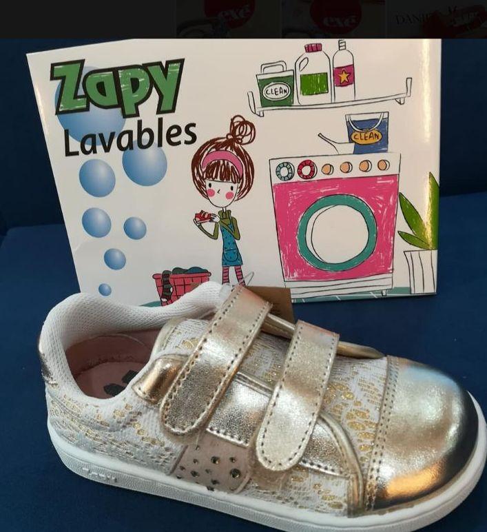 Deportivas infantiles Zapy Lavables
