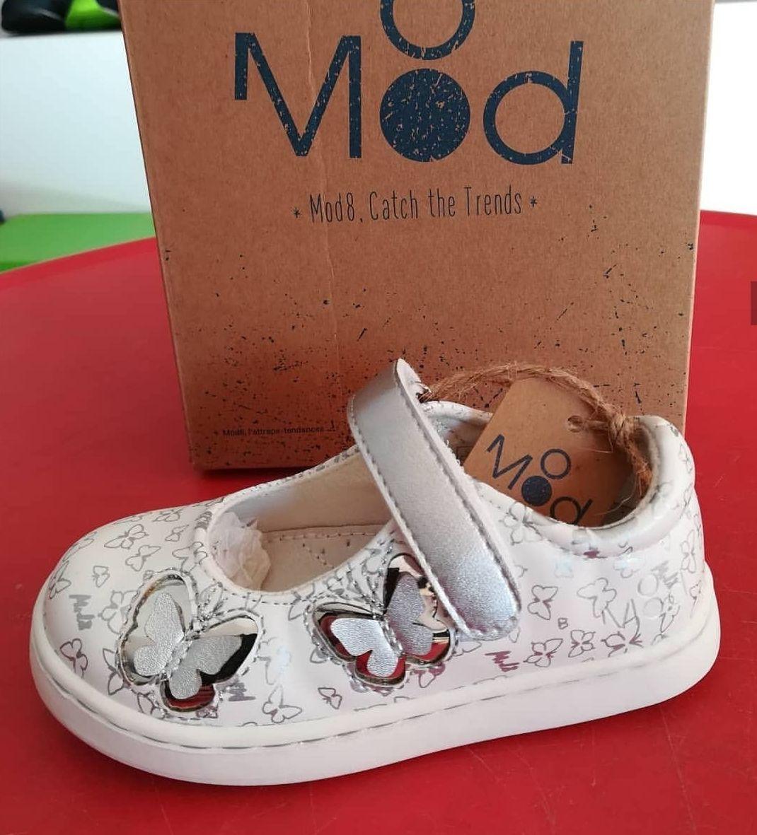 Zapatillas Mod8 . Nuevos diseños. Vive la primavera. Calzado infantil