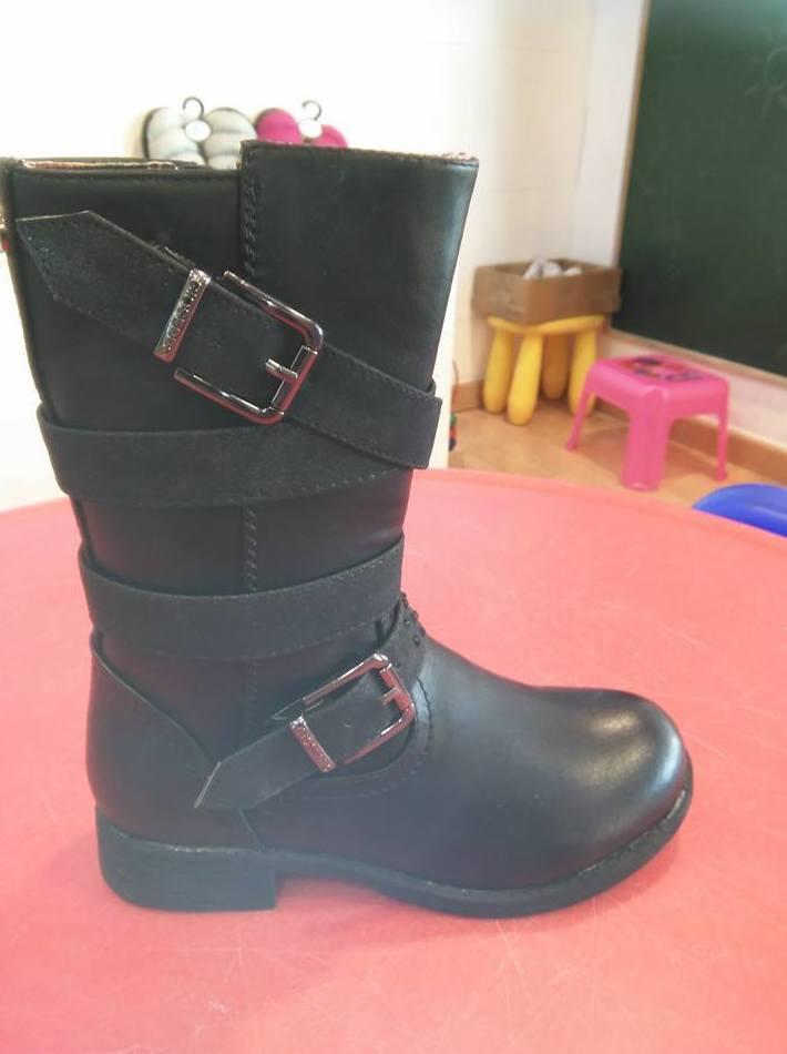 Botas negras muy cómodas