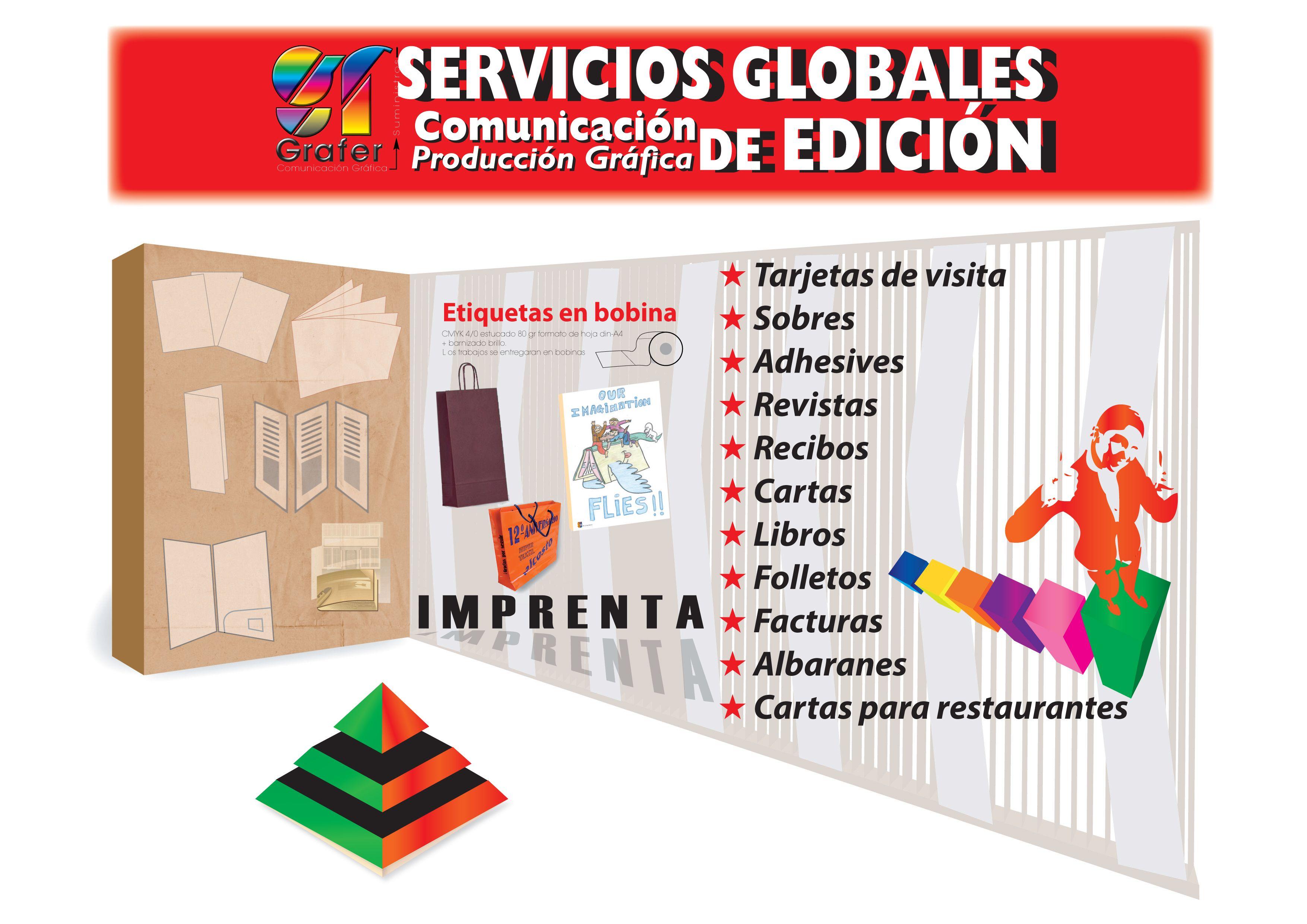 Trabajos de imprenta en Madrid