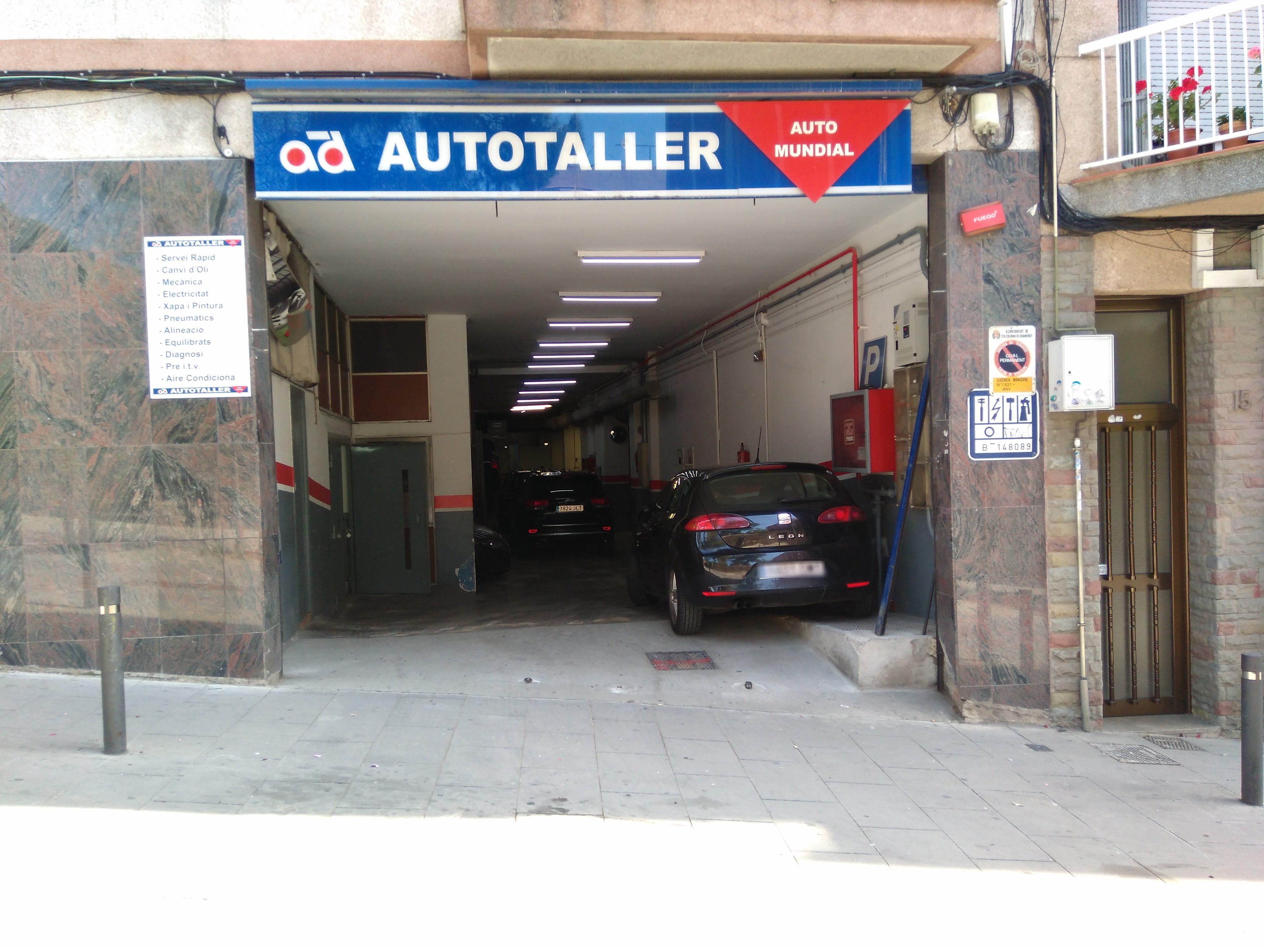 Mecánica general: Servicios de Automundial 2008