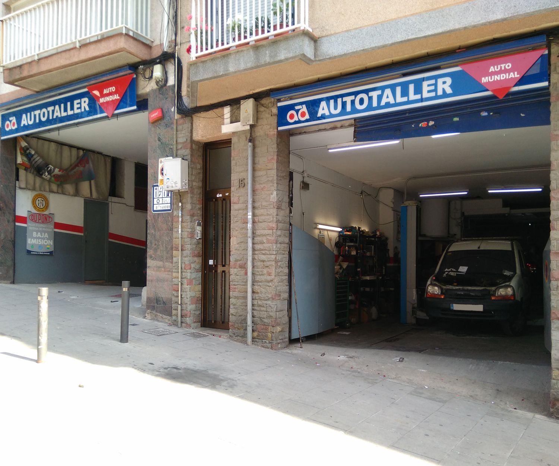 Taller de coches en Santa Coloma de Gramanet