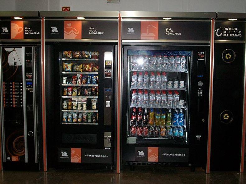 Máquinas de vending en Barcelona