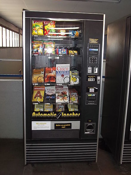 Distribución de máquinas de vending