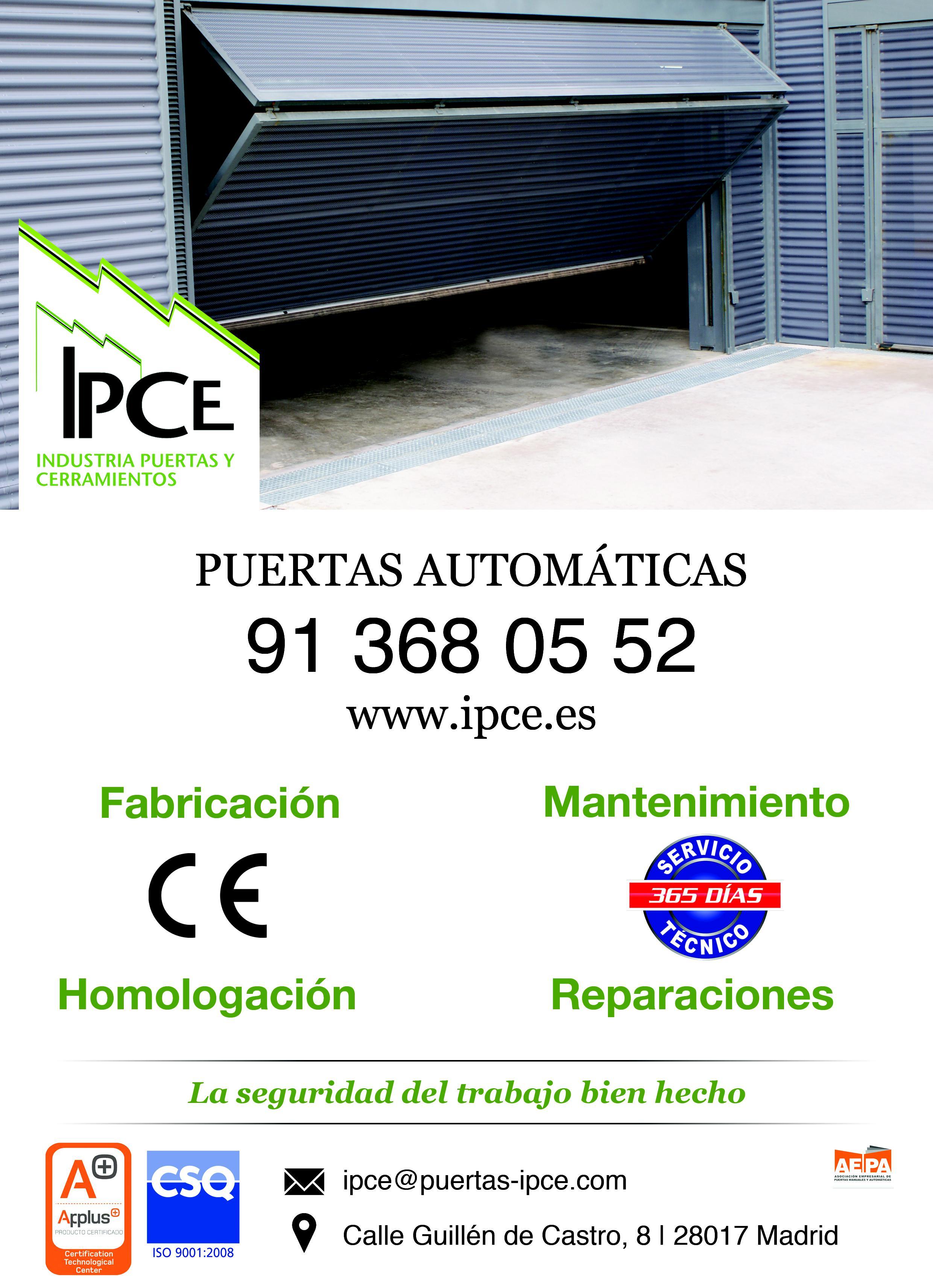 IPCE Puertas Automáticas
