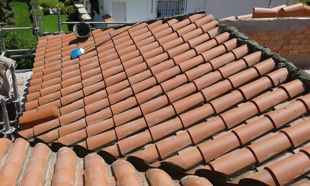 Construcción de tejados en Málaga