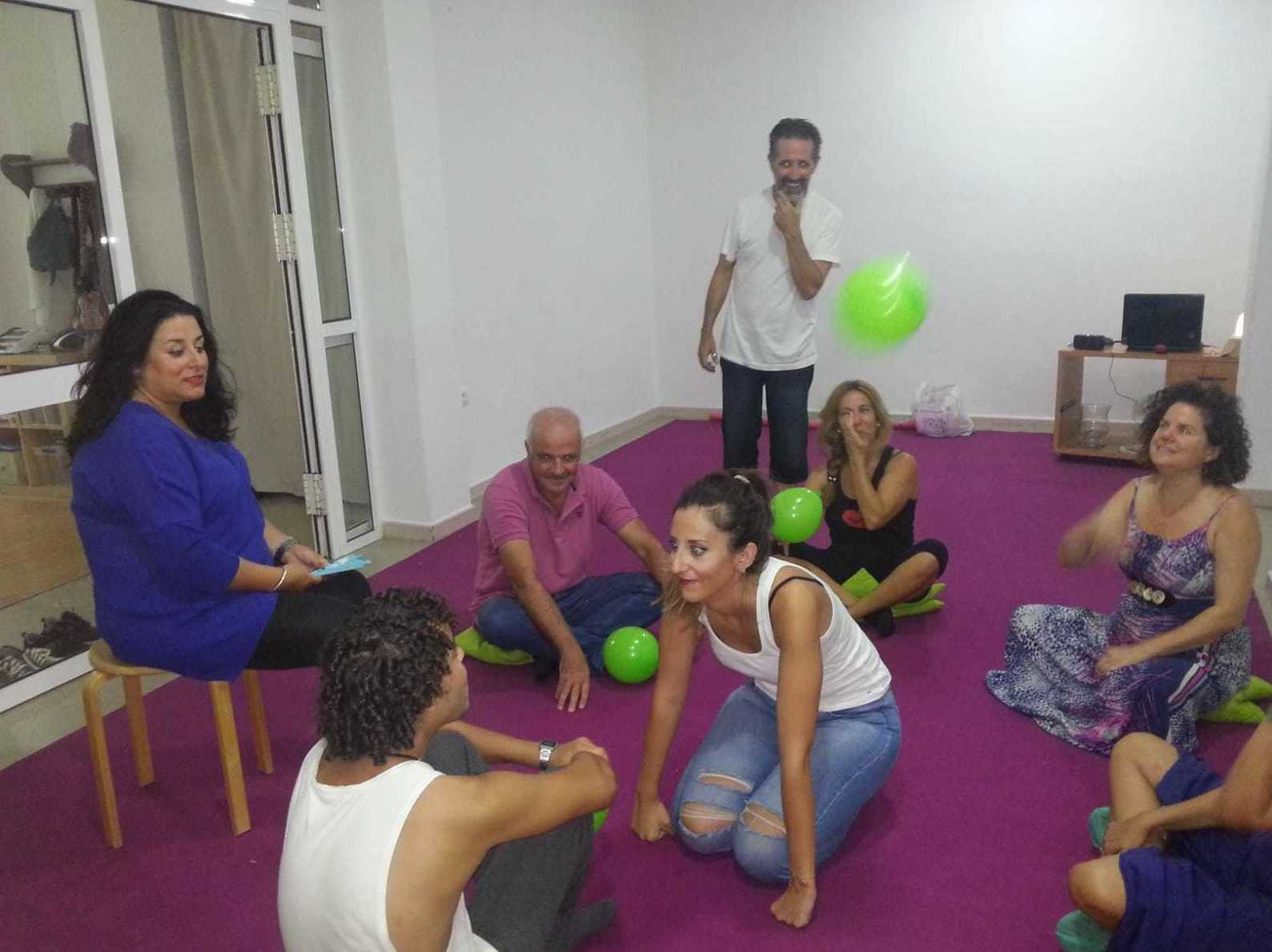 Taller de Risoterapia con Jose Manuel Navarro