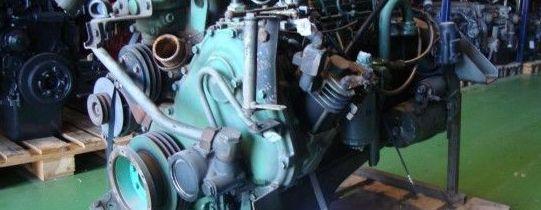 Motor del Volvo