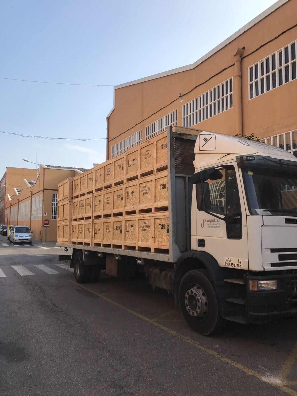 Fabricantes de palets en Granollers
