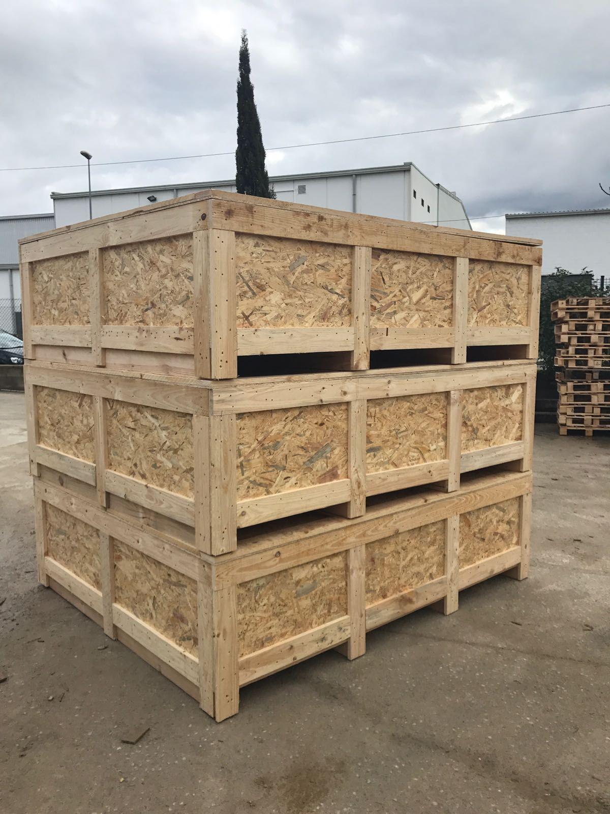 Embalajes de madera en Granollers