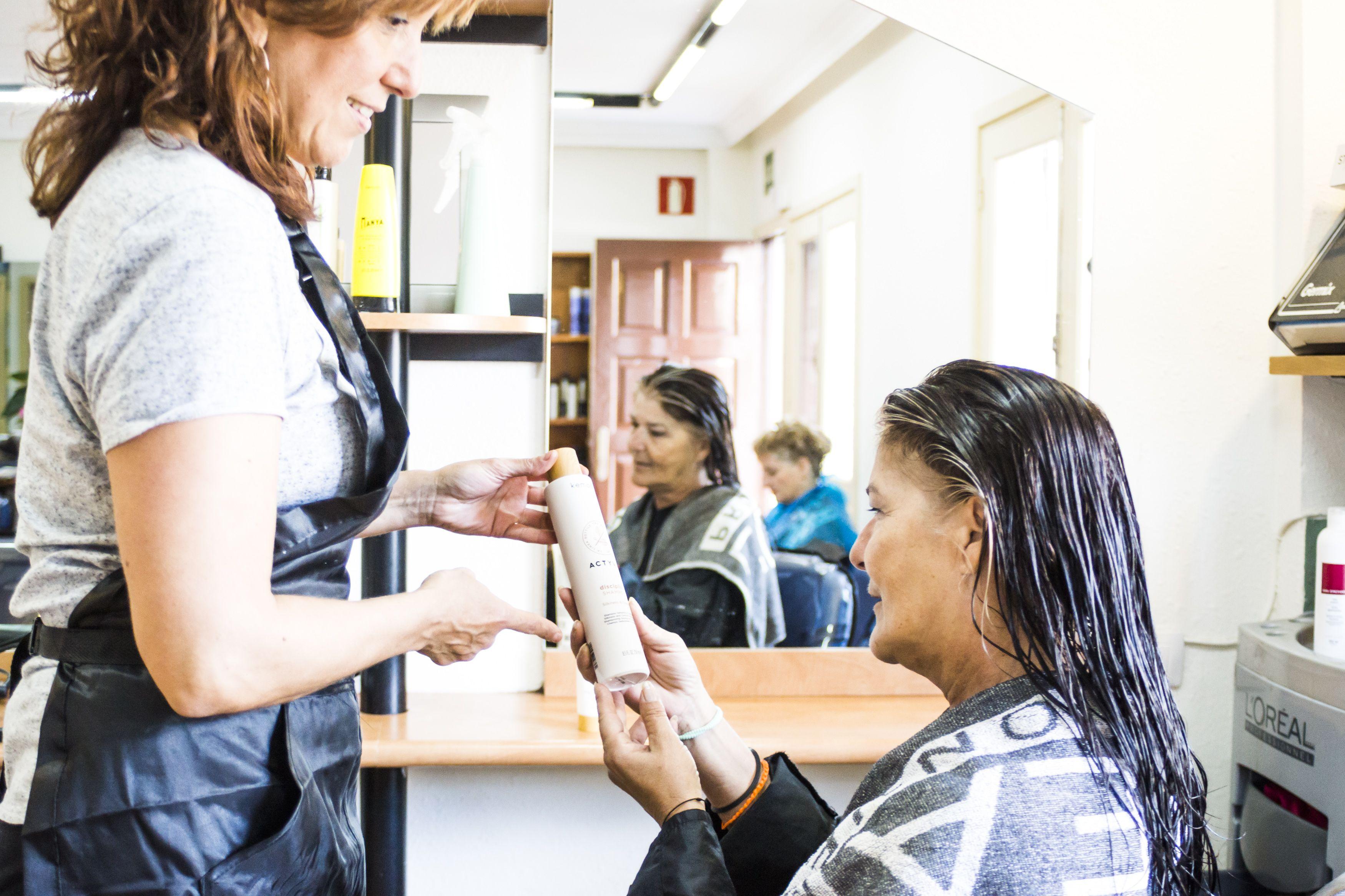Venta de productos para la salud del cabello
