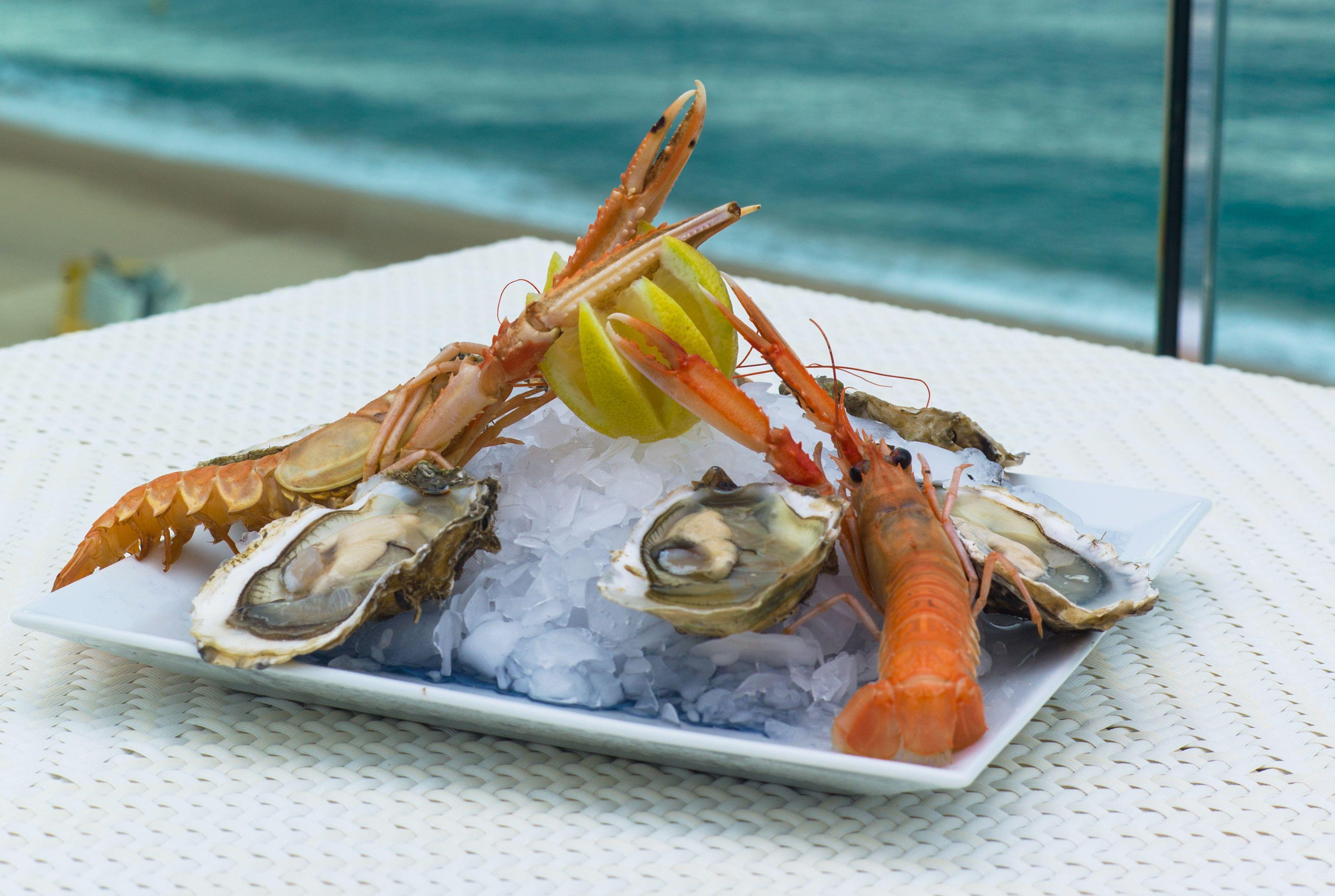 Pescados y mariscos: Carta of Restaurante El Faro