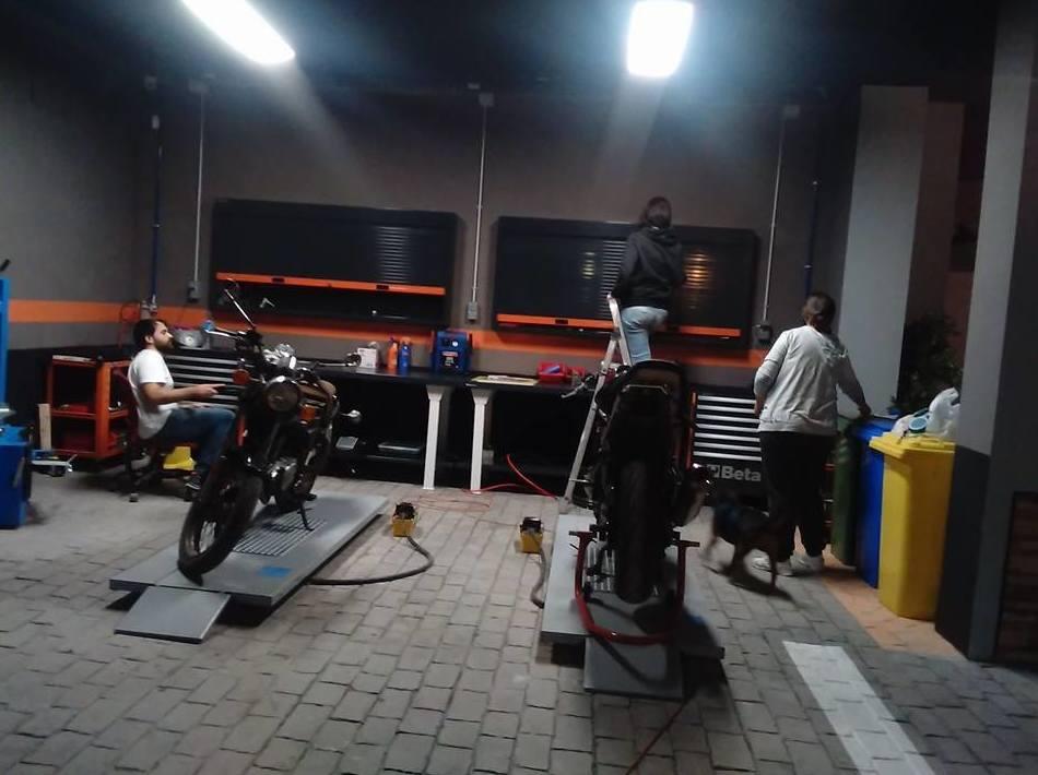 Taller de reparación de motocicletas en Hospitalet de Llobregat