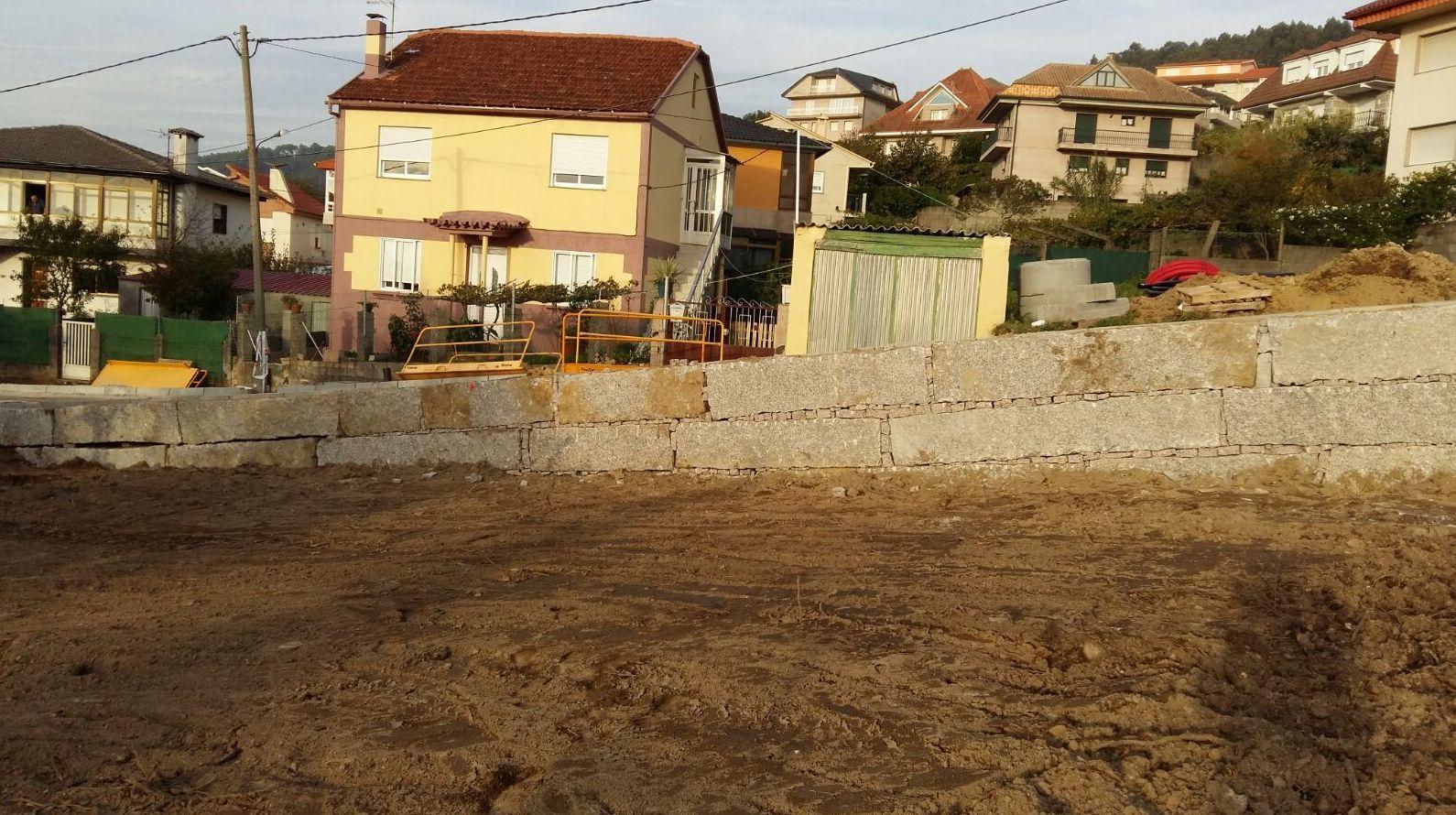 Foto 1 de Empresa de excavaciones en Nigrán | Excavaciones y Muros ESSAL