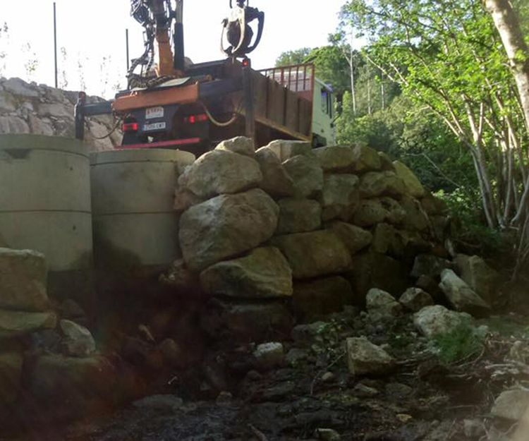 Muros de contención en Galicia