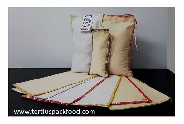 Envase textil cosido