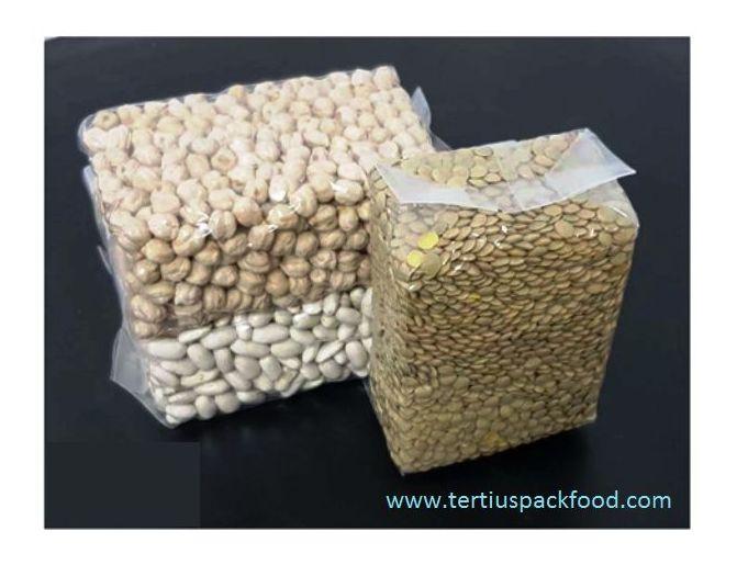 Envasado vació de alimentos con/sin atmósfera modificada