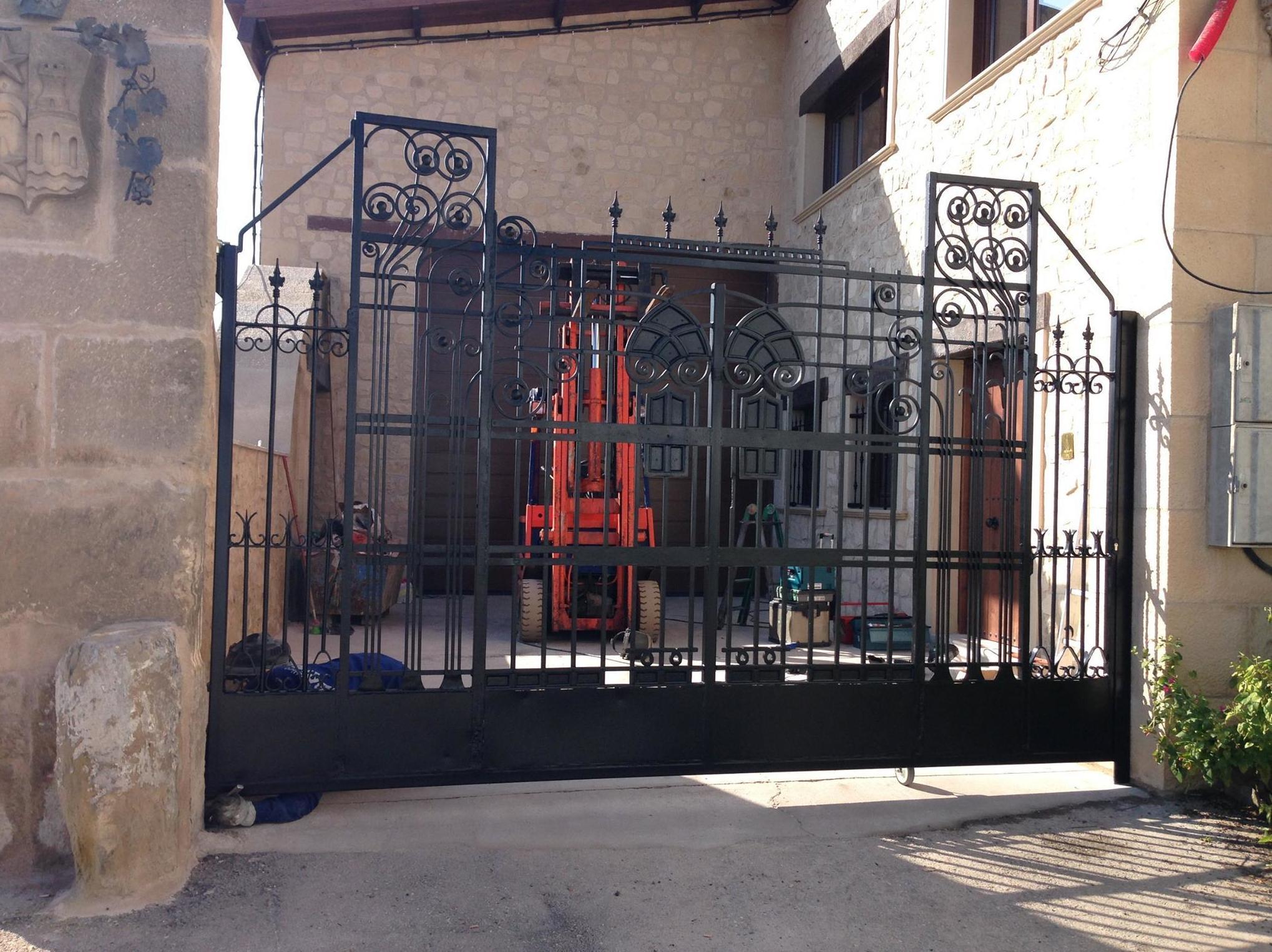 Puertas metálicas de forja