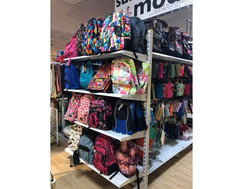 Venta de mochilas escolares en Asturias