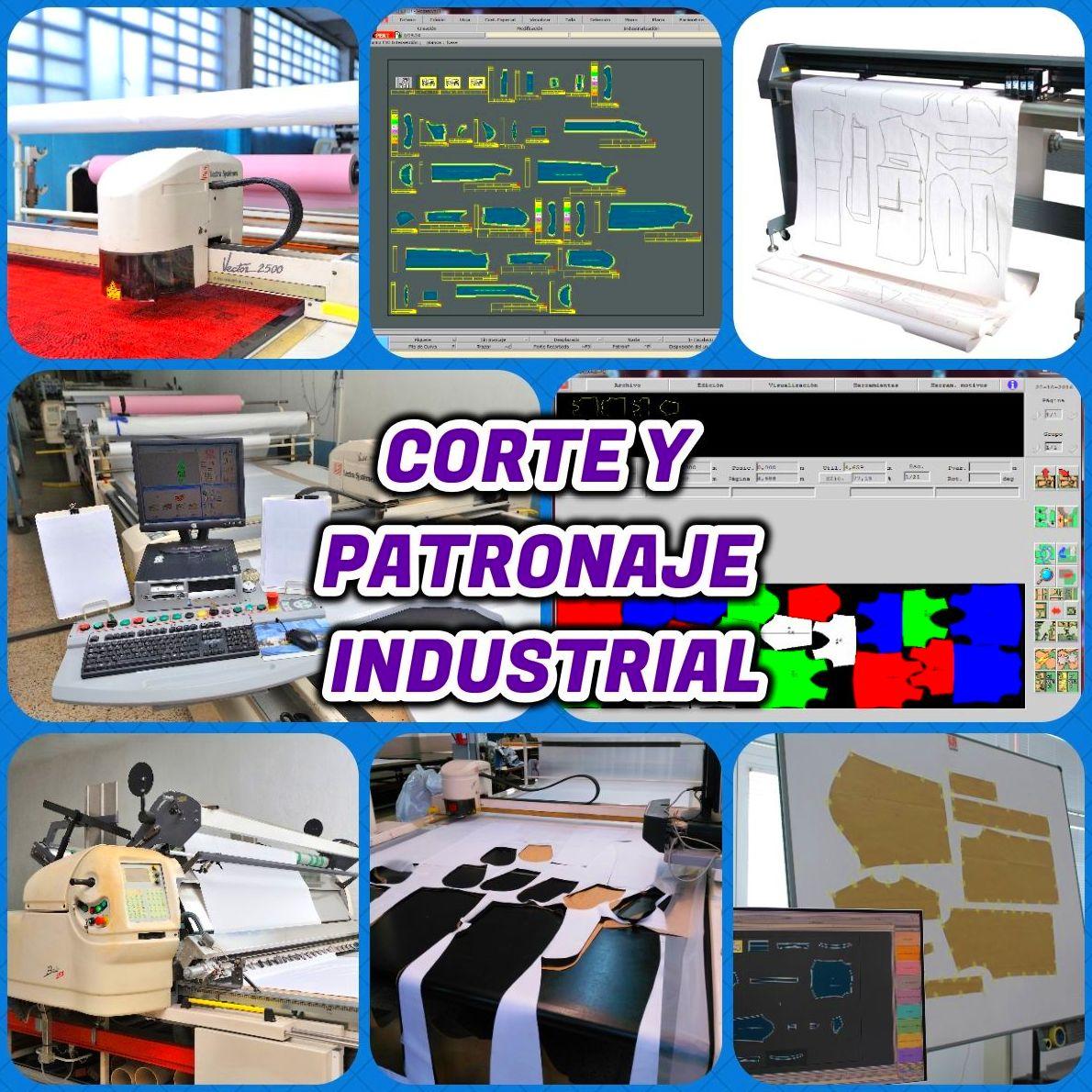 Corte y patronaje industrial: Productos de Cotexma