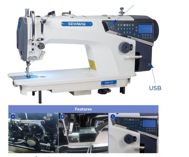 Máquina de coser WD Q5 Sewmaq