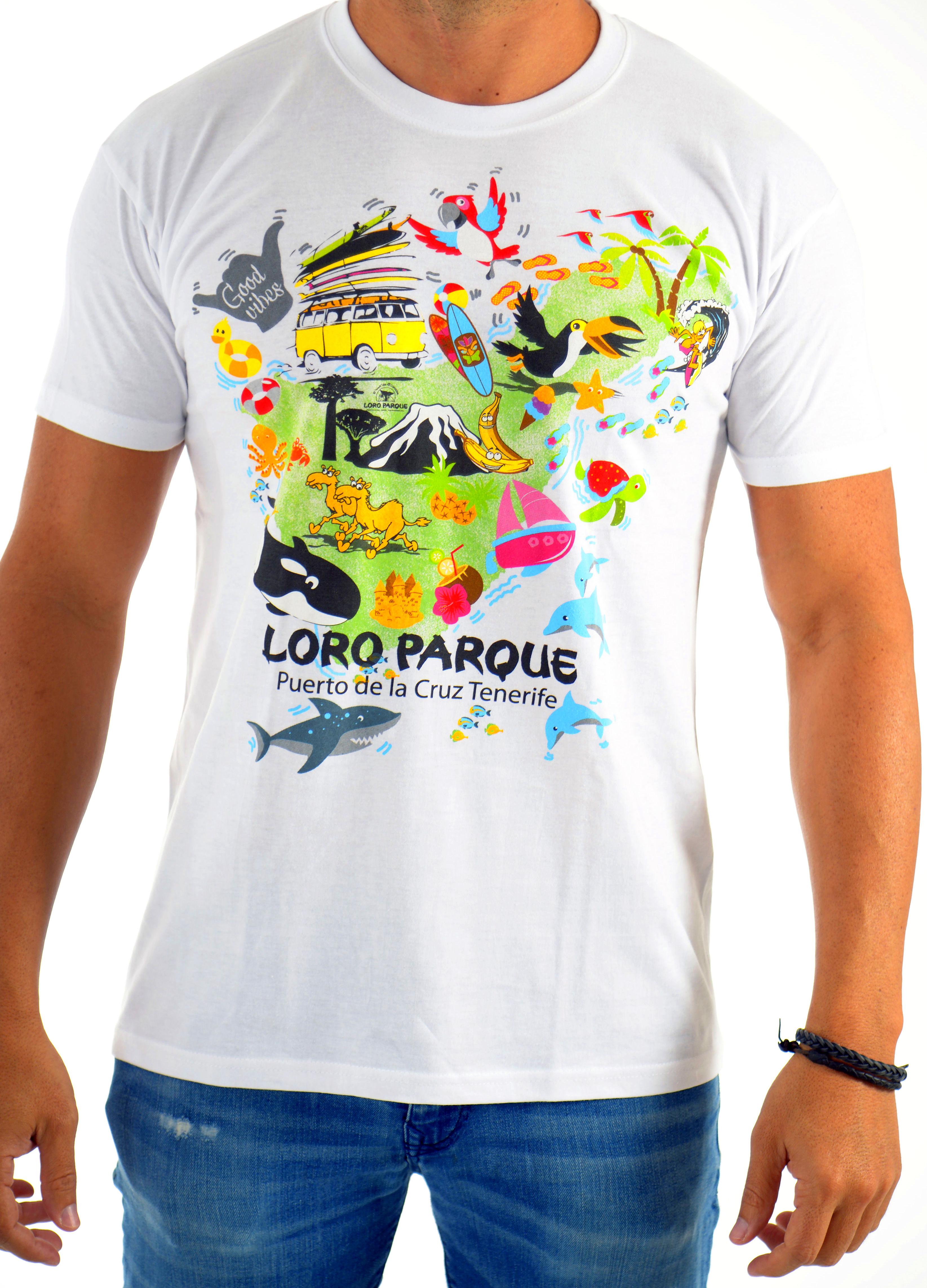 Camiseta Hombre Isla Mágica / Magic Island Man´s T-Shirt: Productos of BELLA TRADICION