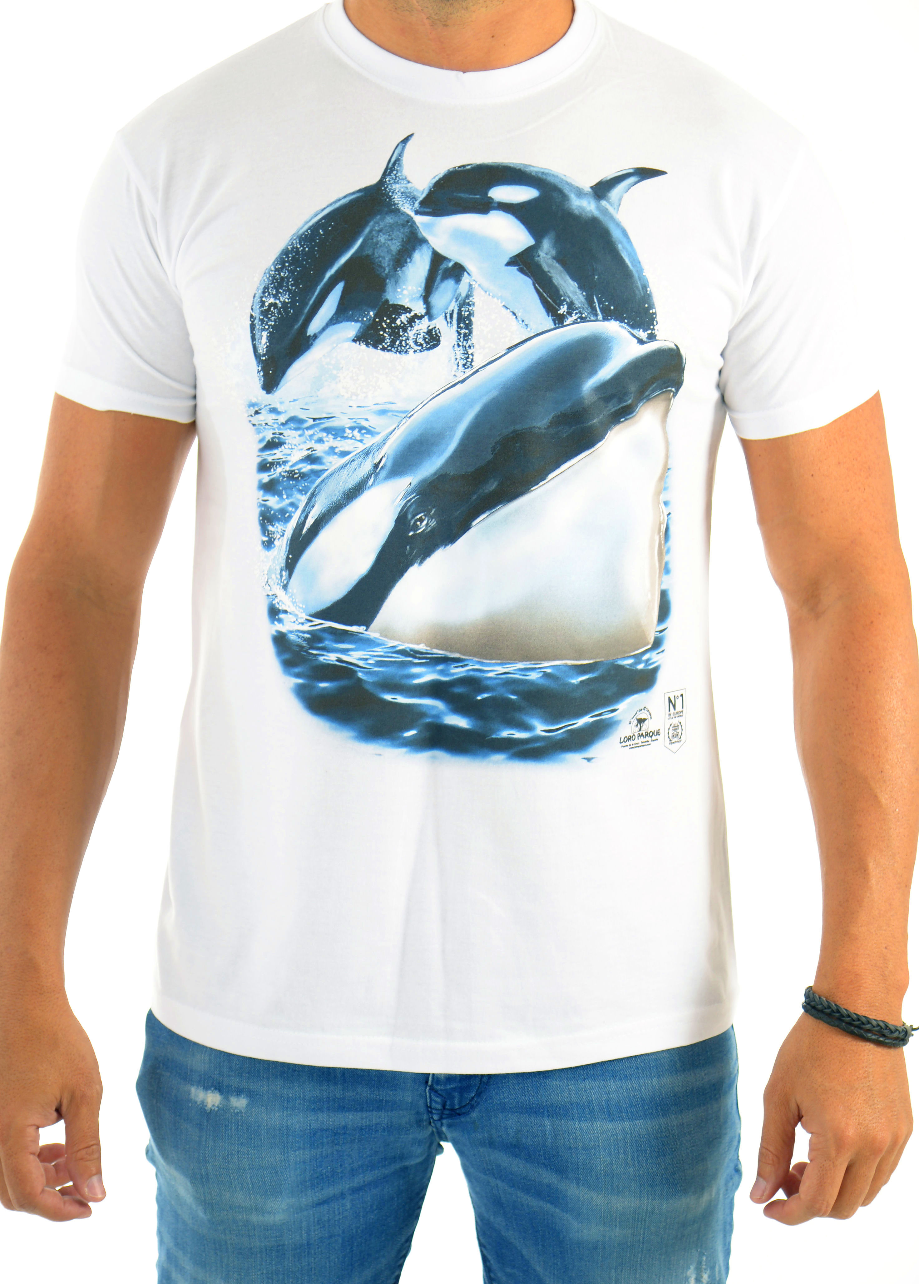 Camiseta Hombre 3 Orcas / 3 Whale´s  Man´s T-Shirt: Productos de BELLA TRADICION