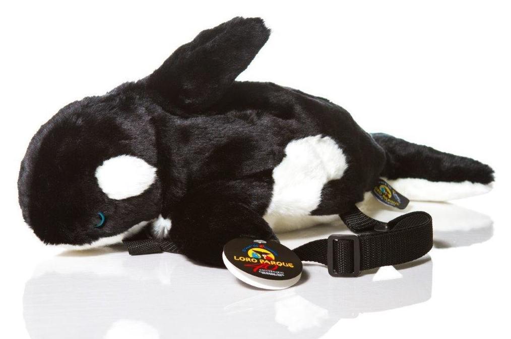 Mochila Orca peluche / Whale Backpack : Productos de BELLA TRADICION