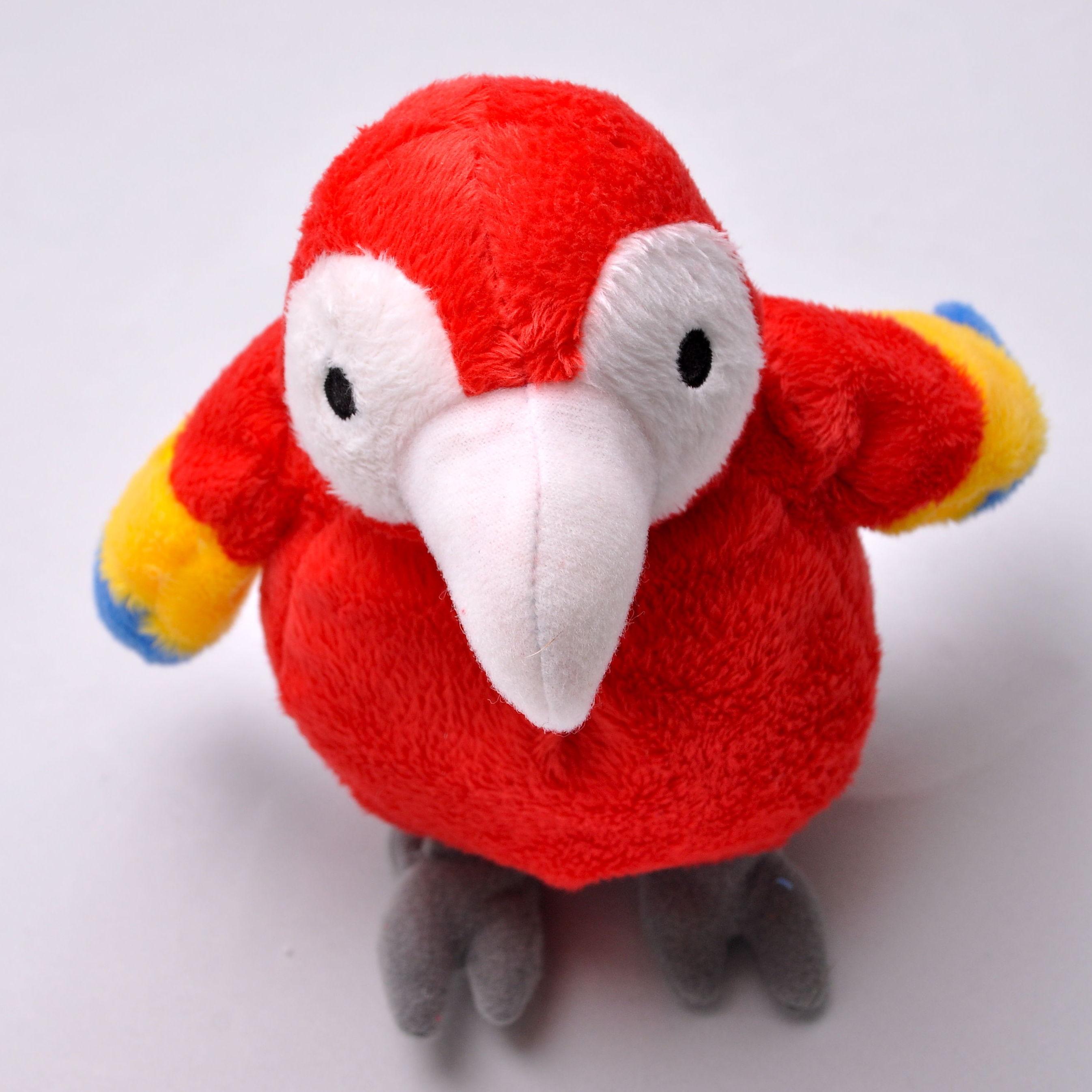 Loro Rojo Pequeño / Red small Parrot: Productos de BELLA TRADICION