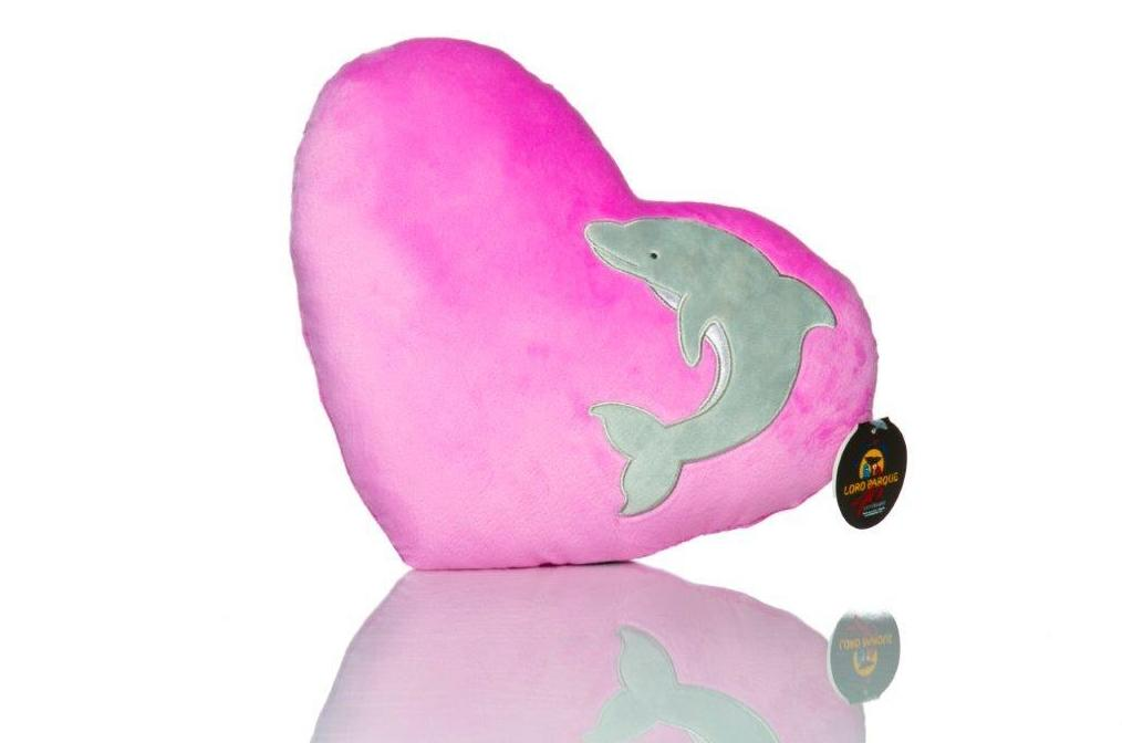 Cojín Corazón Delfín / Dolphin Heart Cushion: Productos de BELLA TRADICION