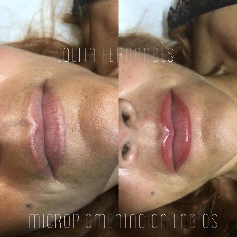 Micropigmentación de labios en Almería