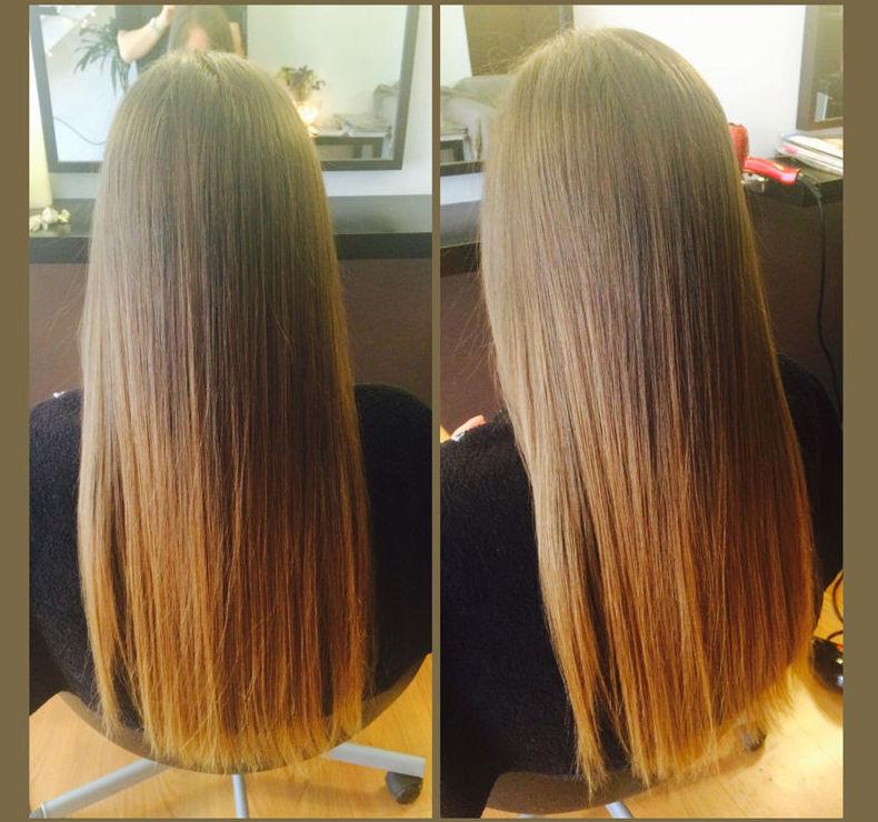 Técnicas de alisado de pelo