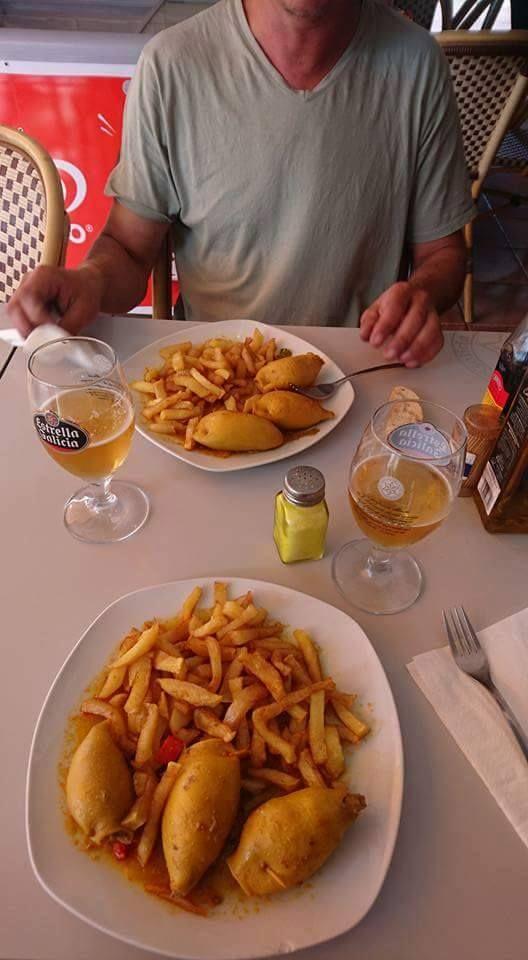 Carta con gran variedad de platos