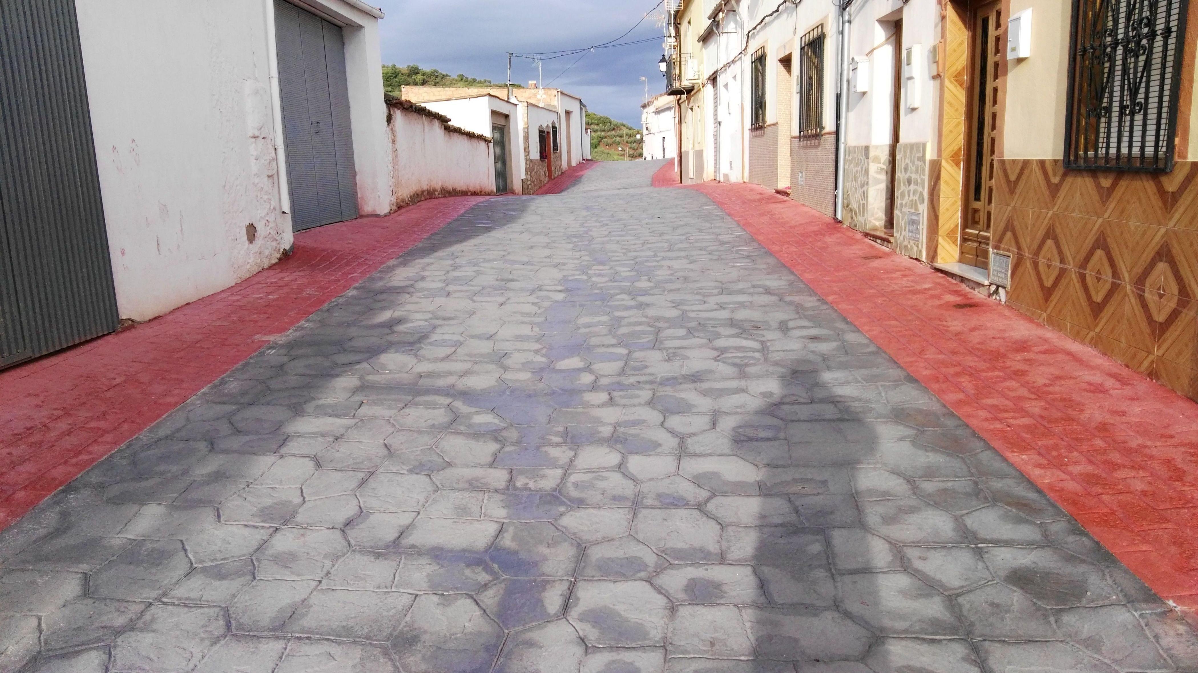 Pavimentos de hormigon impreso en Jaén