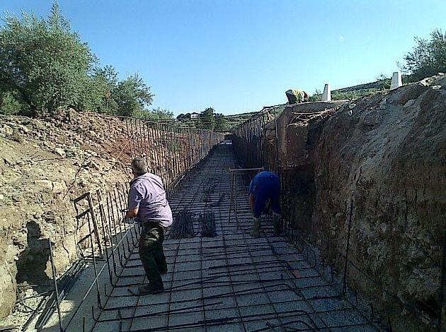 Obras de cimentación en Jaén
