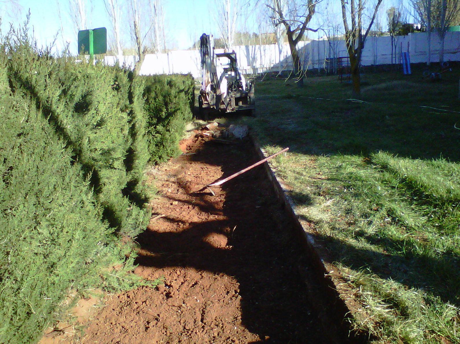 Movimientos de tierra y demoliciones en Jaén