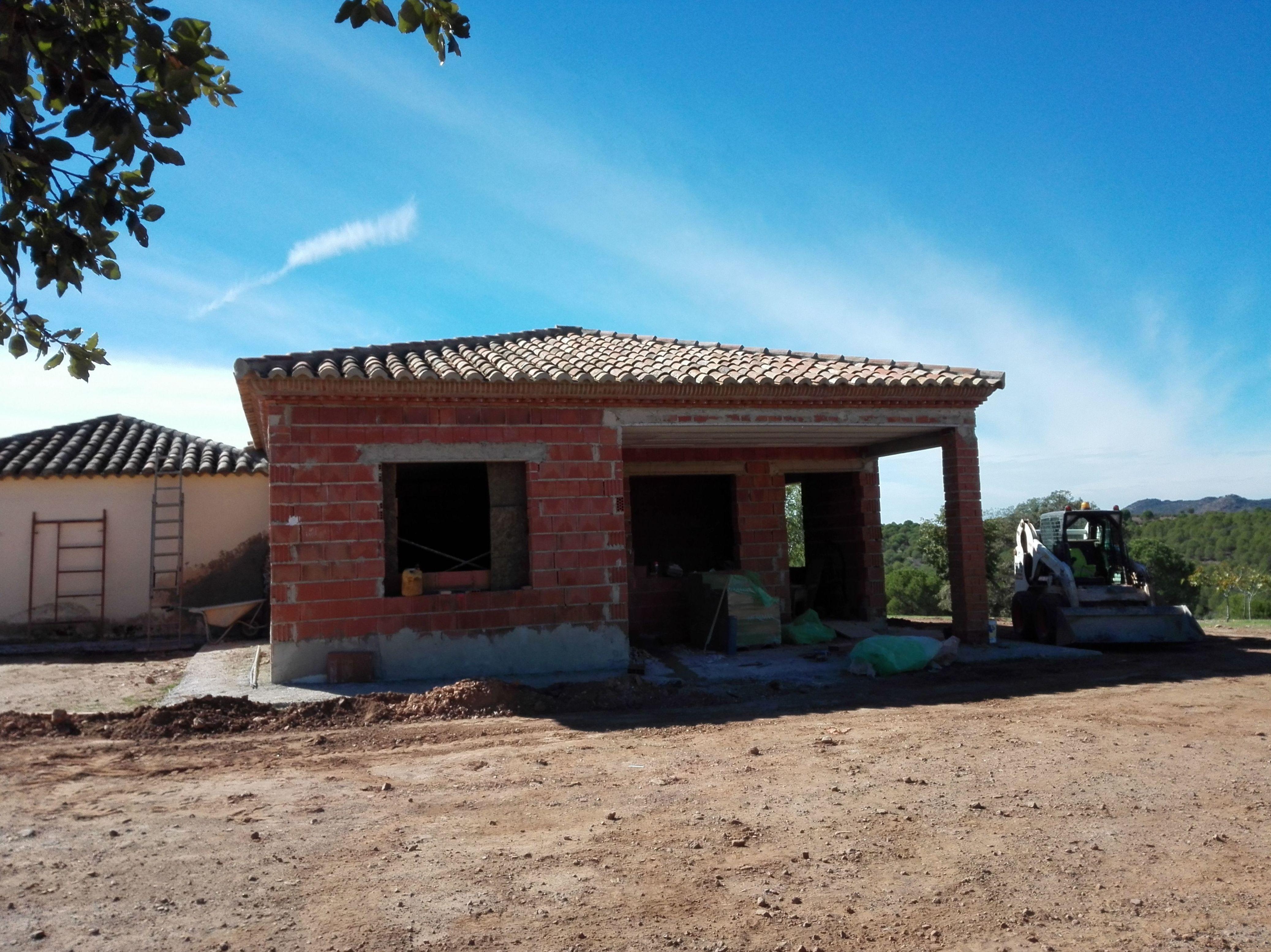 Construcción casas de campo en Jaén