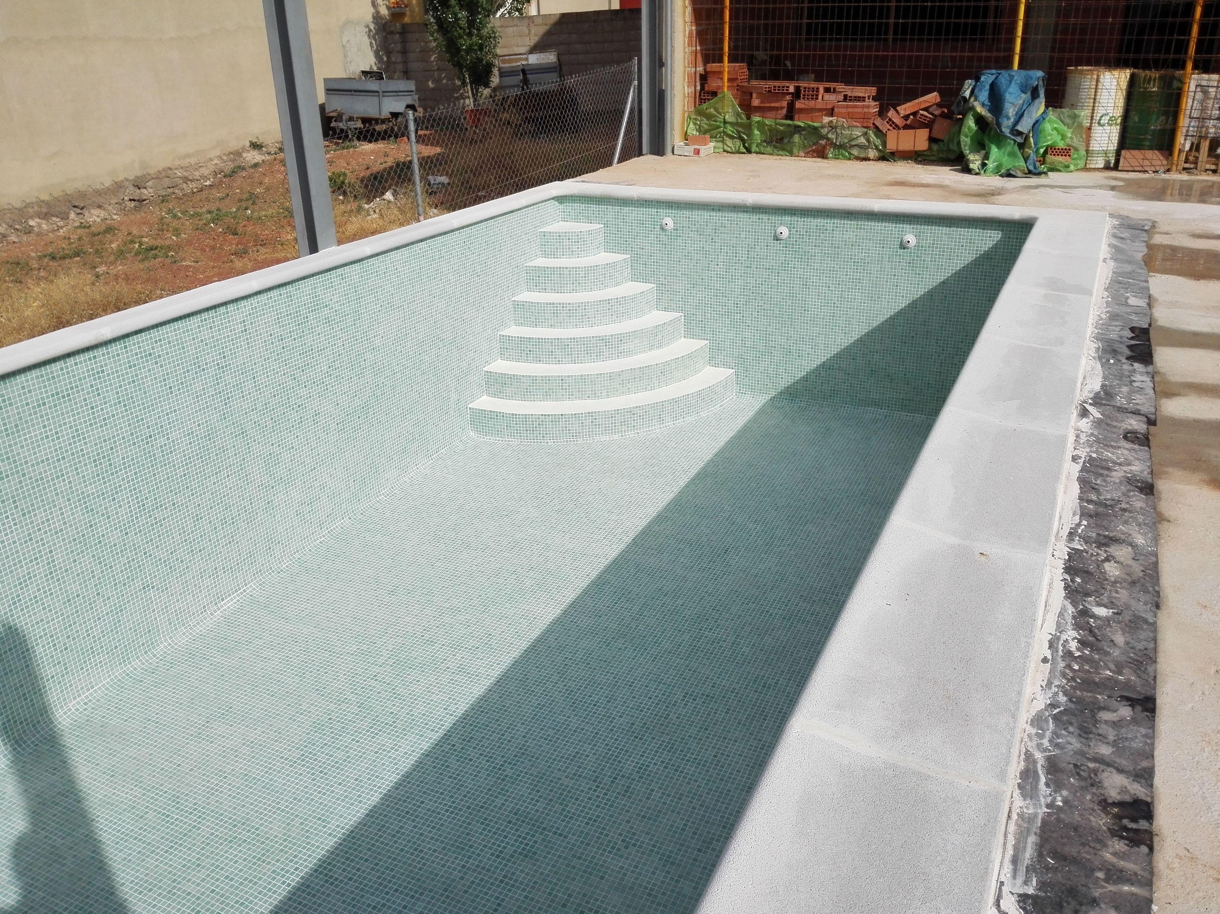 Construcción de piscina en Jaén
