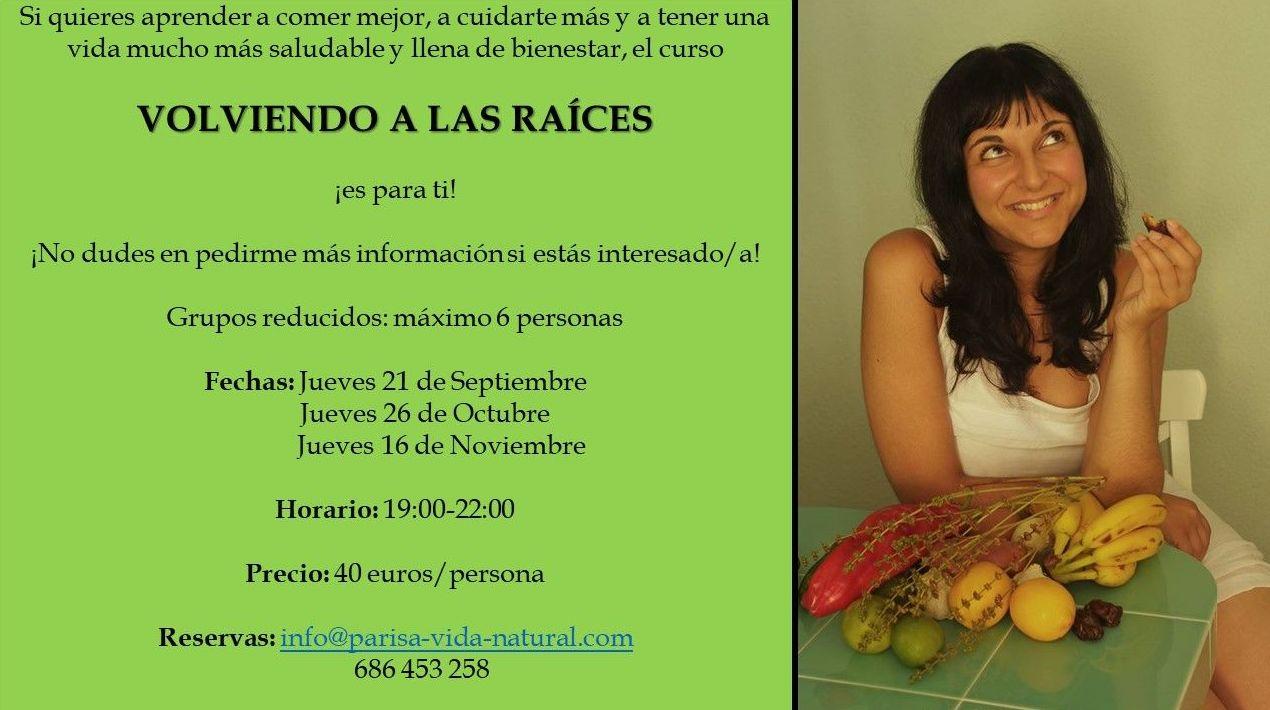 CURSILLOS/CHARLAS DE NUTRICIÓN EN MADRID