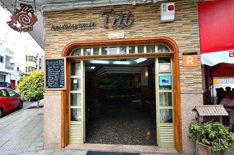 Restaurante con gran variedad de pescados y mariscos en Los Abrigos