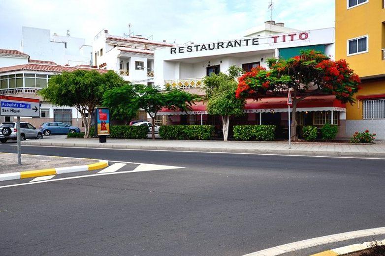 Restaurante en Los Abrigos, Tenerife